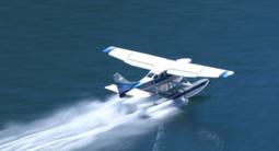 Vol en ULM Hydravion au dessus de la côte d'azur près de St Maxime
