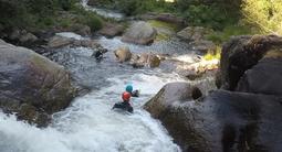 Canyoning dans les Gorges du Banquet près de Mazamet