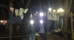 Événements et anniversaires à l'accrobranche de l'île de loisirs près de Paris