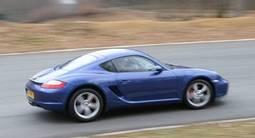 Pilotage sur Route d'une Porsche Cayman S près d'Orsay
