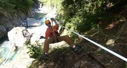 Parcours Acrobatique en Hauteur composé de tyroliennes à Luz Saint Sauveur