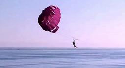 Parachute ascensionnel à Argeles sur Mer