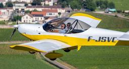 Initiation au pilotage d'avion léger à Beaune