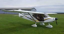 Baptême de l'air en avion léger à Mulhouse en alsace