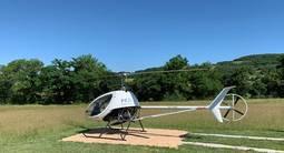 Baptême Privatif en Hélicoptère ULM près du Puy-en-Velay en Auvergne
