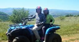 Randonnée en Quad à Millau dans l'Aveyron