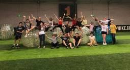 Partie de bubble bump à Clermont Ferrand