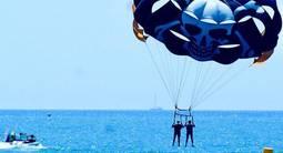 Séance de parachute Ascensionnel à Cagnes sur Mer