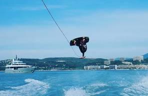 Wakeboard ou Ski Nautique au Cros-de-Cagnes, entre Nice et Antibes