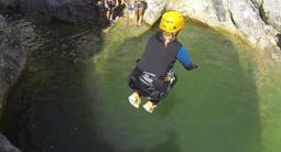 Canyoning en eau chaude spécial hiver à Thuès près de Perpignan