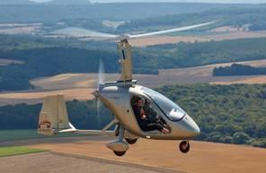 Baptême de l'air et initiation au pilotage d'ULM Autogire à Nancy