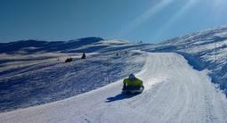 Descente en Airboard à Val Cenis