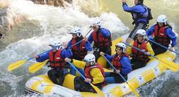 Rafting à Saint-Lary Soulan dans les Pyrénées - Gorges de Cadéac