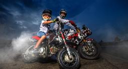 Initiation au pilotage de motocross près de Saint-Brieuc