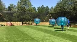 Partie de Bubble football à Villefranche-sur-Saône