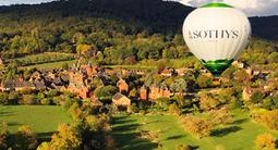 Vol en montgolfière à Auriac - Escapade au-dessus des Jardins SOTHYS