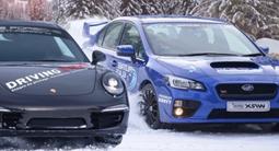 Stage de pilotage sur glace en Porsche et Subaru - Circuit de Flaine
