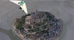 Baptême en ULM Pendulaire au dessus du Mont-Saint-Michel