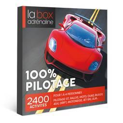 Coffret cadeau La Box Adrénaline 100% Pilotage