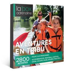 Coffret cadeau La Box Adrénaline Aventures en tribu