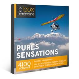 Coffret cadeau La Box Adrénaline Pures sensations